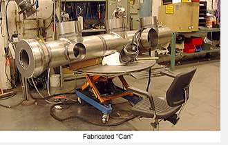 Fabricated Can